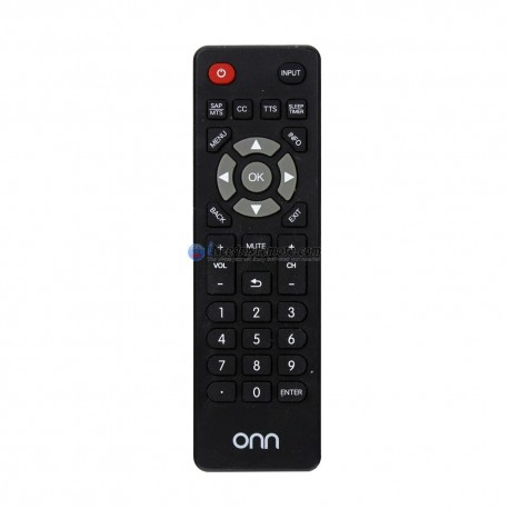 Genuine ONN TV Remote Control for ONC18TV001 (USED)
