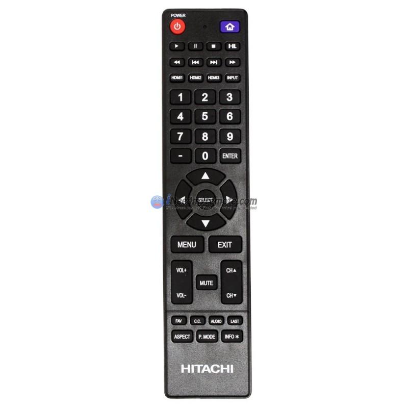 Genuine Hitachi 850125633 TV Remote Control