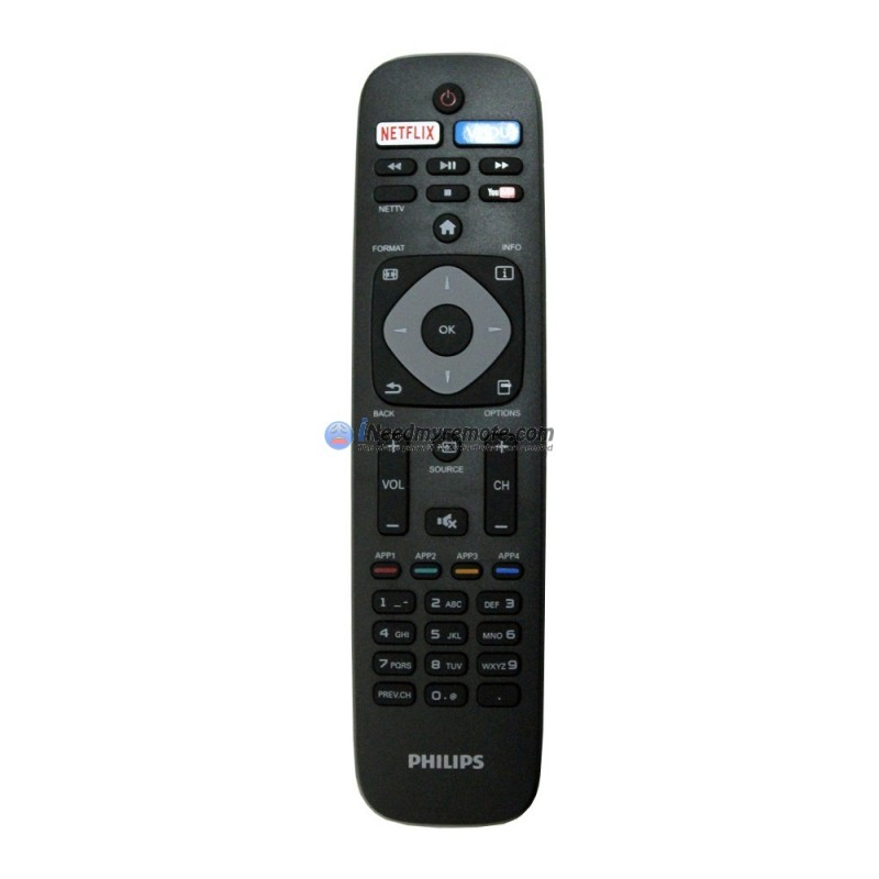 Genuine Philips URMT41JHG006 Smart TV Remote Control (USED)